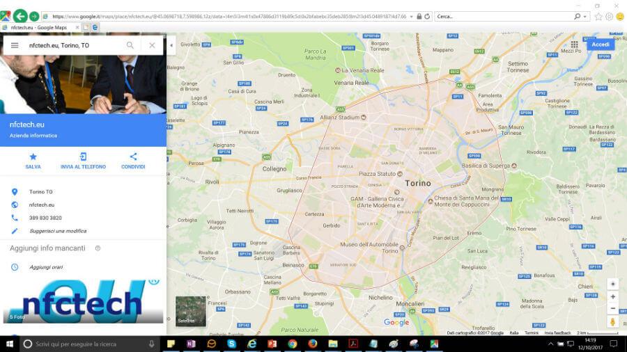 Snippet di Google Places nei risultati di ricerca di Google Maps