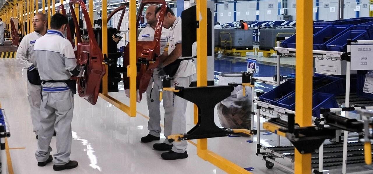 Mantenimento della distanza di sicurezza tra i lavoratori